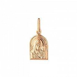 Золотая ладанка Богородица Мать