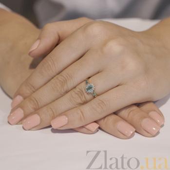 Золотое кольцо с изумрудами и бриллиантами Аделаида KBL--К1836/крас/изум