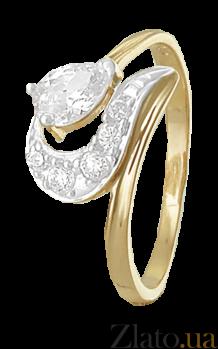 Серебряное кольцо с фианитами Саида 000025575