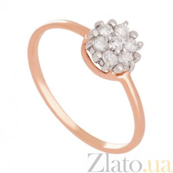 Золотое кольцо с фианитами Вирджиния VLN--212-1468