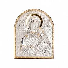 Икона серебряная с позолотой Страстная