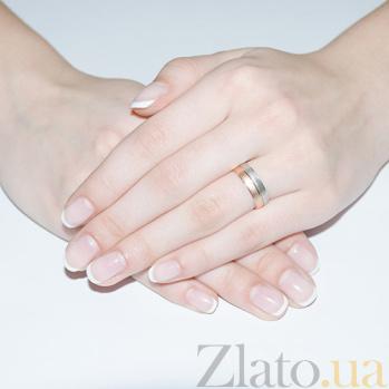 Золотое обручальное кольцо Драгоценная пара TRF--4411003