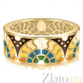 Мужское золотое обручальное кольцо Талисман счастья 3104