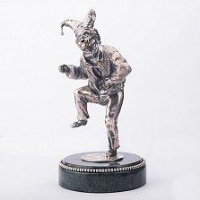 Серебряная статуэтка ручной работы Танцующий шут