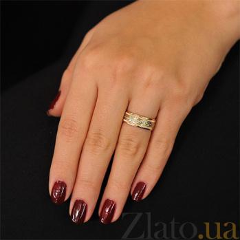 Золотое обручальное кольцо Страстная любовь 000001663