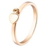 Кольцо в красном золоте Тебе одной