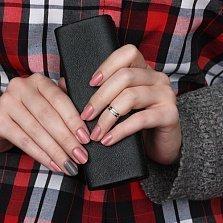 Серебряное кольцо на фалангу Двойной минимализм