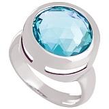 Золотое кольцо Медисон с топазом