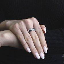 Серебряное кольцо Lord of the Rings с чернением