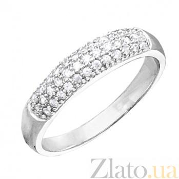 Серебряное кольцо с фианитами Алайз 000028095