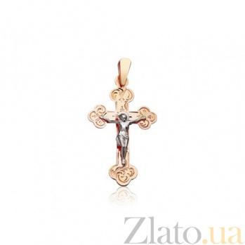 Золотой крестик Откровение EDM--КР076
