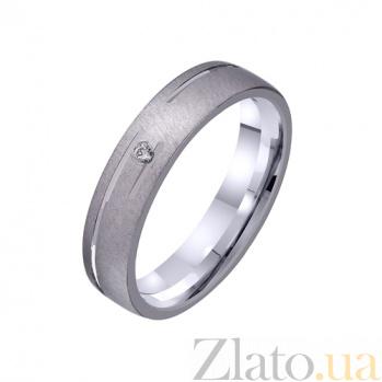 Золотое обручальное кольцо Гармония любви TRF--422228