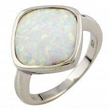 Серебряное кольцо Сильвана с опалом
