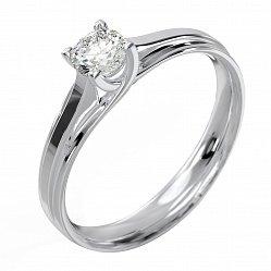 Кольцо из белого золота Паветта с бриллиантом