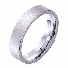 Обручальное кольцо из белого золота Идеальный брак