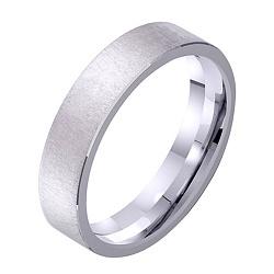 Золотое обручальное кольцо Идеальный брак в белом цвете