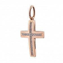Золотой крестик Фернанда с бриллиантами в ассортименте