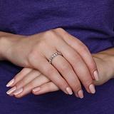 Золотое кольцо Драгоценный путь с бриллиантами