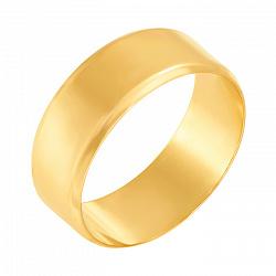 Обручальное кольцо Торжество в желтом золоте