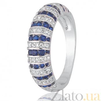 Кольцо из серебра Нейтири с фианитами 000028352