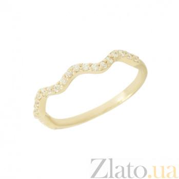 Золотое кольцо с фианитами Габи 2К220-0250