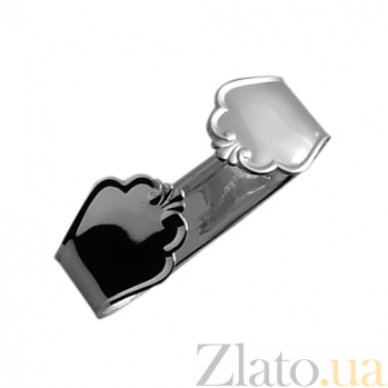 Серебряная салфетница Чип  ZMX--110_183
