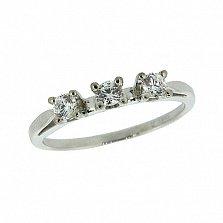 Серебряное кольцо с цирконием Джита