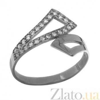 Серебряное кольцо с цирконием Измира TNG--320859С