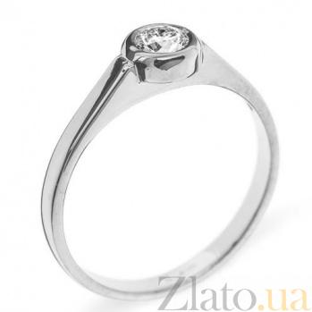Кольцо с брилиантами из белого золота Caroline R 0556