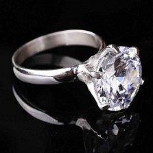 Кольцо из серебра Сабрина с цирконием
