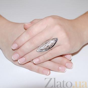 Кольцо с белыми фианитами Бажена 2170.1
