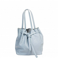 Сумка На Каждый День Italian Bags 8956_sky Кожаная Синий