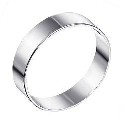Обручальное кольцо из белого золота 000103703