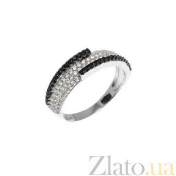 Серебряное кольцо Бостон с фианитами AQA--JR0250