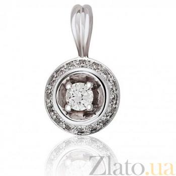 Кулон из золота Обольщение с бриллиантами EDM--П7471/1
