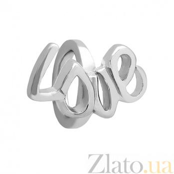 Серебряный шарм LOVE 3Н203-0426
