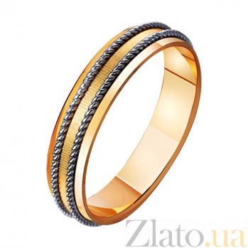 Золотое обручальное кольцо из золота Крепкие чувства TRF--441353