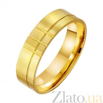 Золотое обручальное кольцо Идеальный образ TRF--431908