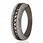 Серебряное кольцо с фианитами Гемма 3К934-0016