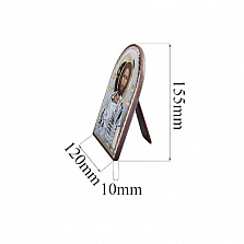 Икона Иисус Христос в серебре с позолотой