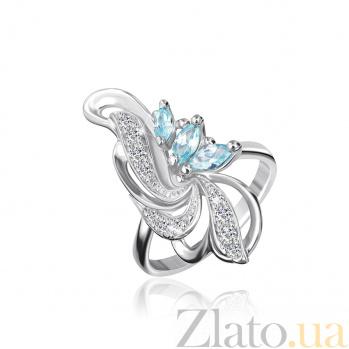 Серебряное кольцо с фианитами Фонтан 000025456
