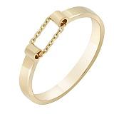 Золотое кольцо Ускорение в желтом цвете