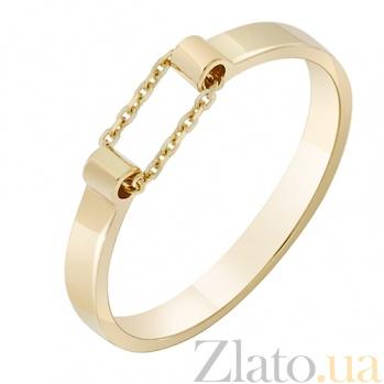 Золотое кольцо Ускорение в желтом цвете 000032646