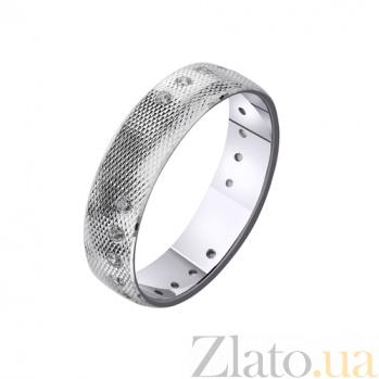 Золотое обручальное кольцо Сияние влюблённых TRF--4221140