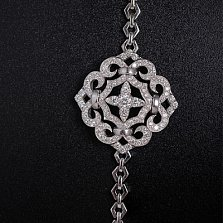 Золотой браслет с бриллиантами Виора