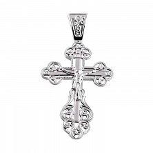 Серебряный крест Вензельный