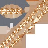 Золотой браслет Беатриче, 6мм