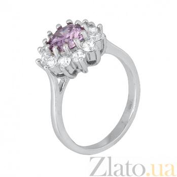 Серебряное кольцо с фианитами Марсэйли 000028304