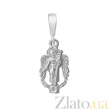 Серебряный подвес Светлый ангел  000025380