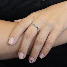 Серебряное кольцо Караван сердец